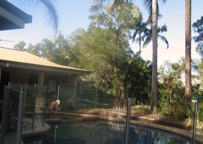 Homestay pool 1